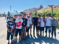 Trakyalı öğrenciler Van Kalesi'ni gezdi