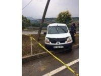 Sinop'ta trafik kazası: 1 ölü, 3 yaralı