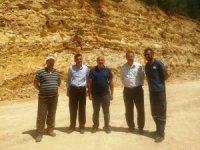 Hisarcık'ta ikinci grup yolunda onarım çalışmaları