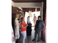 Başkan Şahin Kültür ve El Sanatları Merkezini ziyaret etti