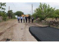 Hacılar'da Asfalt Çalışmaları Tüm Hızıyla Sürüyor