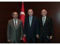 AK Parti milletvekilleri Cumhurbaşkanı Erdoğan ile görüştü