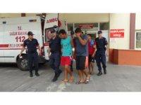 Manavgat'ta kavga eden yabancı uyruklu 7 kişi sınır dışı edildi