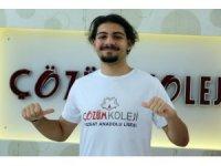 YKS yabancı dil Yozgat birincisi Çözüm Koleji'nden