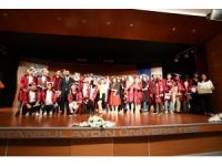 Türkçe öğrenen 740 öğrenci sertifikalarını aldı