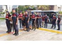 Alanya'da fuhuş operasyonu: 12 gözaltı