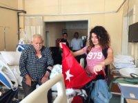Türkeli Gençlik Merkezinden hastalara moral