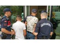 Dorselerden soğutucu kart hırsızlığına 2 gözaltı