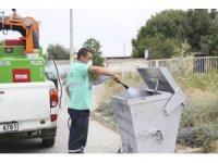Efeler'de sivrisineklerle yoğun mücadele