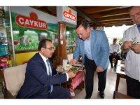 Bakan Yardımcısı Özkaldı, Çaykur çay satış ve tadım mağazasını açtı