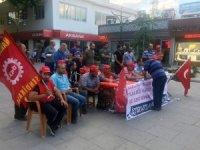 Nakliyat-İş Sendikası işten çıkarıldığı ileri sürülen işçiler için imza kampanyası başlattı
