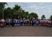 Uluslararası Akçaabat Müzik ve Halk Oyunları Festivali'nden renkli görüntüler