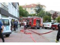 Çankırı'da korkutan yangın