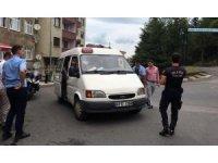 Trabzon'da dolmuşlara 'öğrenci tarifesi' denetimi