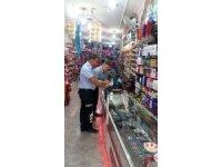 Kozmetik ürünleri satan iş yerleri denetlendi