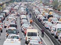 İstanbul'un trafik hızı 3.7 km yavaşladı!