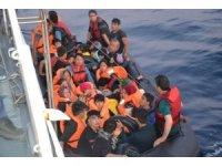 Ayvalık'ta 40 düzensiz göçmen yakalandı