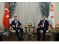 Cumhurbaşkanı Yardımcısı Oktay, KKTC Cumhurbaşkanı Akıncı ile Görüştü