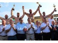 Çan Belediyesi 8. Yağlı Pehlivan Güreşlerinde Başpehlivan Ali Gürbüz oldu