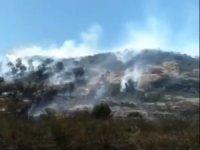 Alaçatı'da makilik yangını ucuz atlatıldı