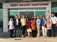 Emet Dr.Fazıl Doğan Devlet Hastanesi'nde ''Sağlıkta kalite denetimi''