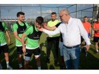 Başkan Ergün'den futbolculara moral
