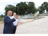 Başkan Söğüt'ten İlimtepe mezarlığından inceleme
