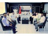 ASKON Kilis İl Temsilciliğinden Rektör  Karacoşkun'a Ziyaret