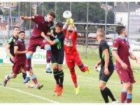 Trabzonspor oynadığı ilk hazırlık maçında golsüz berabere kaldı