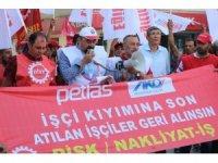 Eğitim-İş Sendikası, Petlas işçilerine destek verdi