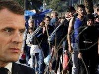 Macron duyurdu! AB'den kritik mülteci açıklaması...