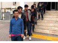 Kayseri'de adli işlem yapılan 375 yabancı uyruklu kişi ülkelerine iade edildi