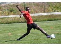 Gençlerbirliği'nin yeni transferi Zargo Toure, Bolu kampına katıldı