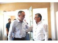 Başkan Esen, Necati Topaloğlu'nu ağırladı