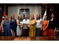 Türk Üniversiteli Kadınlar Derneği'nden Ataç'a ziyaret