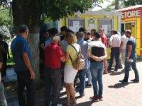 Malatya'da Avrupa maçı biletlerine yoğun ilgi