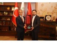 Başakşehir Kaymakamı Tekin, Belediye Başkanı Arı'yı ziyaret etti