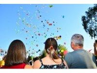 Manavgat'ta  sevgi dostluk ve barışa 5 bin balon