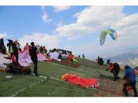 Türkiye Yamaç Paraşütü Mesafe Şampiyonası Denizli'de yapılacak