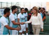 Merkezefendi Belediyesi 'birimler arası futbol turnuvası' başladı