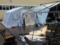 Kamp yangınında ölü sayısı 4'e yükseldi