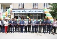 Bursa'nın dört ilçesine doğalgaz taşıyacak ana hattın temeli atıldı