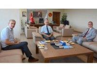 Başkan Birol Aslan'dan Rektör Murat'a ziyaret