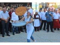 Hatay'da 'Künefe atma' yarışması gerçekleşti