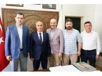 Milletvekillerinden Başkan Aydın'a ziyaret