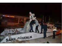 Sahil güvenlik Bozcaada'da can kurtardı