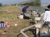 Bolu'da cenaze dönüşü kaza: Ölü ve yaralılar var...
