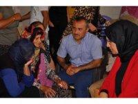 AK Parti heyetinden Ovacık'taki acılı ailelere taziye ziyareti