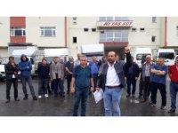İflas eden süt fabrikasının satışının durdurulmasına üreticilerden tepki