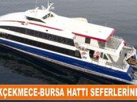 İDO, Büyükçekmece-Bursa hattı seferlerine başlıyor